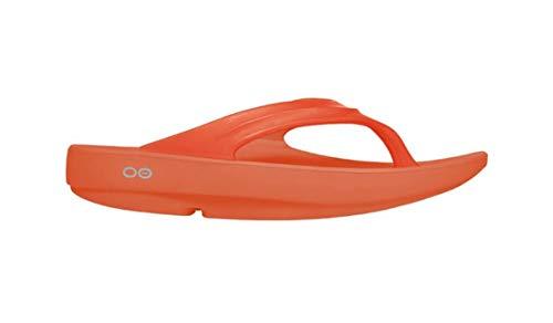 OOFOS Unisex Oolala Flip Flop - Orange - W3 UK (36 EU)