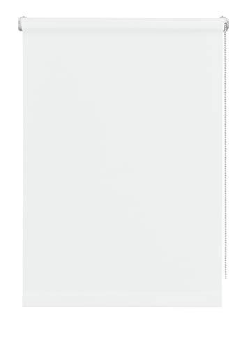 Deco Company Rollo Mini Estor Enrollable, Poliéster, Blanco, 75 x 150 cm