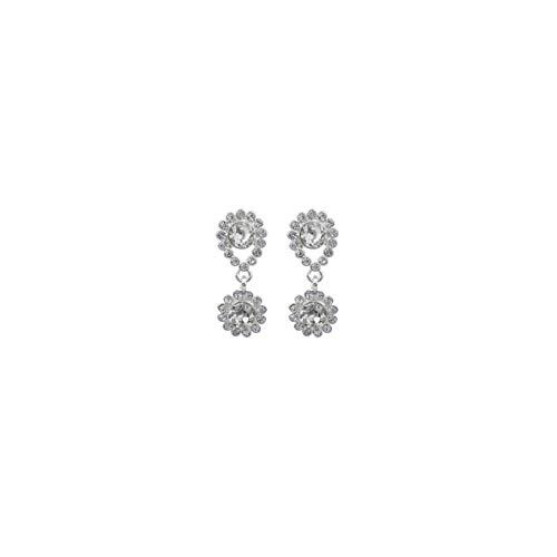 SNÖ of Sweden Pendiente colgantes Mujer chapado en plata - 793-5700012