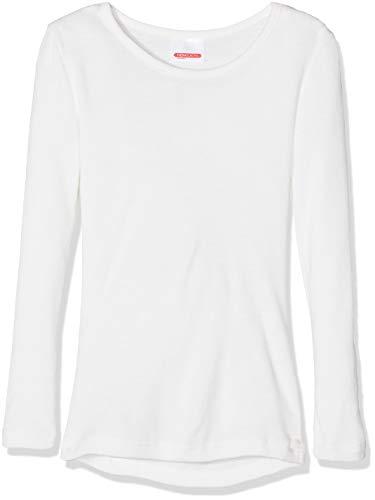 Damart Jungen Tee Shirt Manches Longues Thermounterwäsche - Oberteile, Weiß (Blanc 42034-01010-), 10 Jahre (Herstellergröße: 10Jahre)
