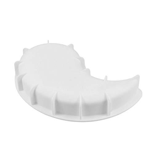 no brand 1 Pcs Yin Yang Gâteau Moule Tai Ji Modèle Souris Moule en Silicone DIY Gâteau Outil Ustensiles de Cuisine