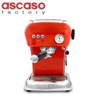 ascaso(アスカソ) DREAM サーモブロックタイプ 家庭用エスプレッソマシン 110006 ラブレッド 1048306