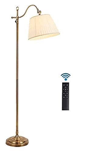 ACMHNC 12W Lampadaire Dimmable, Vintage Lampadaire sur Pied avec Telecommande E27 Lampadaire sur Pied Salon Liseuse pour Chambre Bureau…