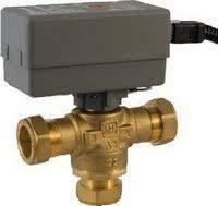 Warmwasser-Umschaltventil 28 mm für Luftwärmepumpen