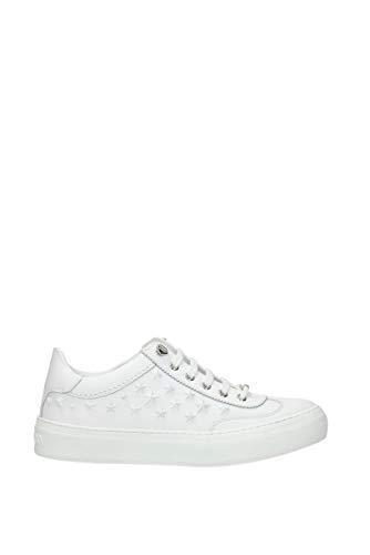 JIMMY CHOO Sneakers ace Herren - Leder (ACE0MXULTRAWHITE) 40 EU