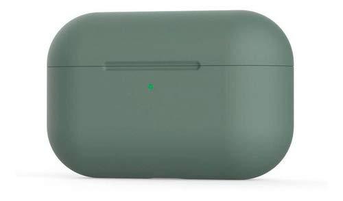 Case Silicone Proteção Verde Pinheiro Compatível Com AirPods Pro