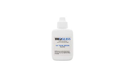 TRI 101 UV Thin Resin - formulated to Produce an optically Superior Bond