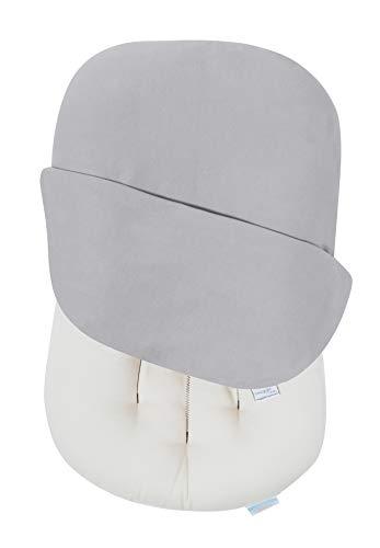 Snuggle Me Organic | Baby Lounger & Infant Floor Seat | Newborn Essentials | Organic Cotton, Fiberfill | Wren