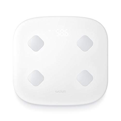 SXXDERTY WiFi Smart-Skala-Körperfett-Analysator-Badezimmer-Körperwaage 8 Körperstatistik-Maß-Baby-Wiegen