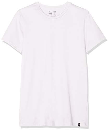 Trigema Herren 637201 T-Shirt Weiss 001, Large (Herstellergröße: L)