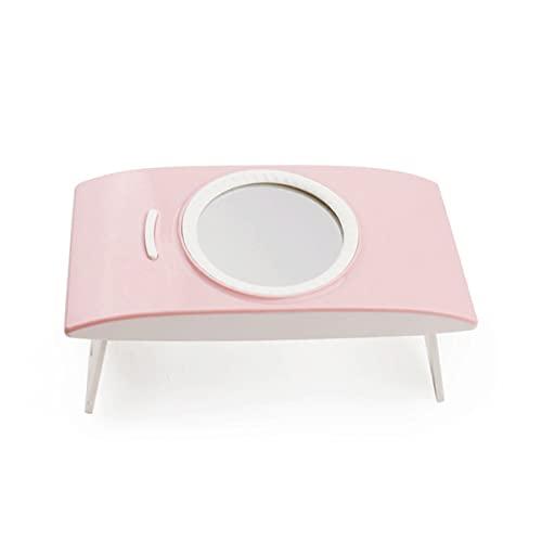 Mini Secador de Uñas, 12W Lámpara LED UV Uñas para Manicura y Pedicura Art Hogar el Salón (Pink)