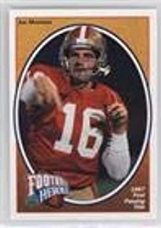 Joe Montana (Football Card) 1991 Upper Deck - Football Heroes - Joe Montana #4