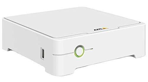 Axis 01035-002 Netzwerk-Videorekorder (NVR) Weiß - Netzwerk-Videorekorder (NVR) (4 Kanäle, 512 MB, AAC, AVC,H.264,MPEG4, 1000 GB, Serial ATA III)