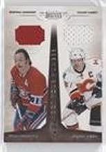 Yvan Cournoyer; Jarome Iginla #23/99 (Hockey Card) 2010-11 Panini Dominion - Got Your Number - Memorabilia [Memorabilia] #6