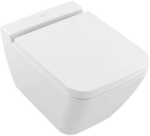 Villeroy & Boch Finion Wand WC + WC Sitz Softclose QR DirectFlush Spülrandlos Ceramicplus