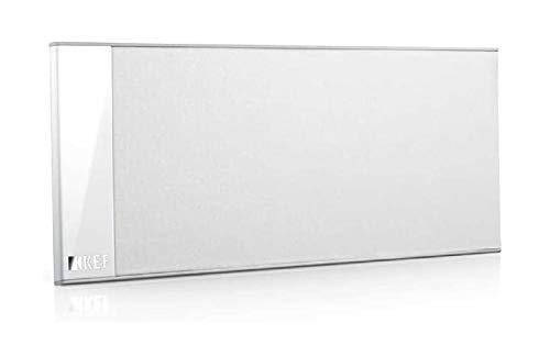 KEF T101c Center-Lautsprecher Weiß Stück|Ultra Flach| 3,5cm tief|10-100W|HiFi|Heimkino|TV