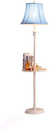 Lampe de table Lampe américaine Salon Canapé Table Basse Plateau Rack créatif Chambre Étude Chevet Verticale éclairage W12 / 28 (Couleur: E Violet), Couleur: E Violet (Color : B Blue)