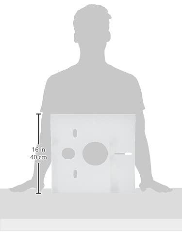 Sanit Schallschutzset für Wand-WC und Bidet, 1 Stück, weiß, 16.002.00..0000 - 5