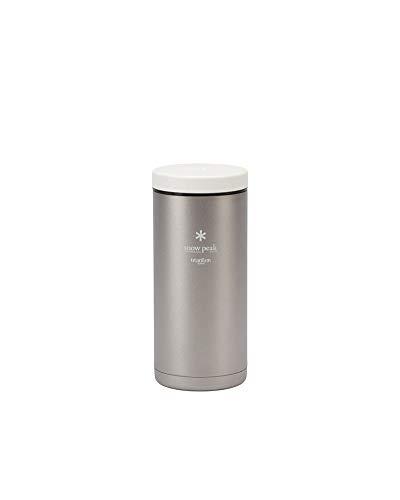 Snow Peak Titanium Kanpai Bottle, TW-180, Premium Titanium, Made in Japan, Ultralight for Camping, Backpacking Everyday Use, Lifetime Product Guarantee