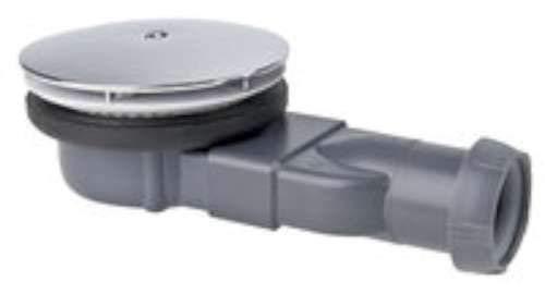 Wirquin slim - Válvula ducha extraplana 4cm sifon diámetro 90