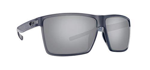 Costa Rincon RIN156OSGP - Gafas de sol unisex, marco de plástico con cristales ahumados, color gris y plateado
