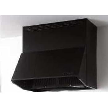 クリナップ 深型レンジフード(シロッコファン) ZRS60NBD12FKZ-E 間口60cm 高さ70cm ブラック 横幕板 ZRYZZNBD30FKZ-E 本体