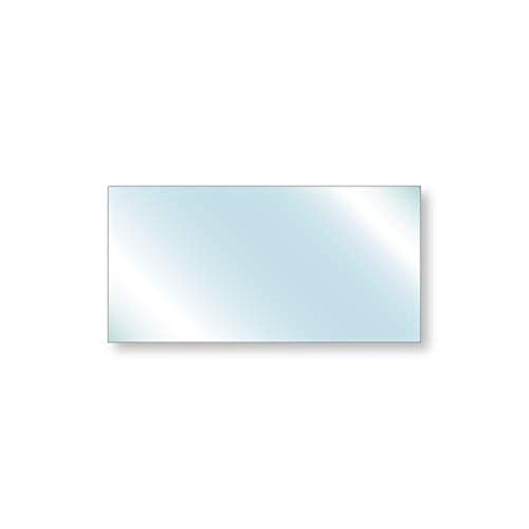 チャネルサンプル葬儀強化ガラス 安全ガラス 厚み6mm 600×300mm 四角形 アラズリ サイズオーダー対応