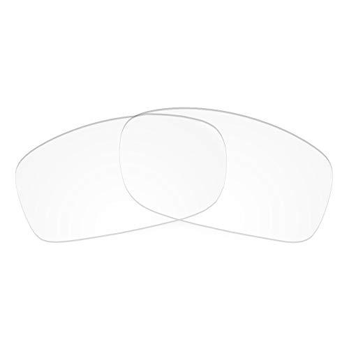 Revant Revant Ersatzgläser Kompatibel mit Oakley Fives Squared, Nichtpolarisiert, Kristallklar