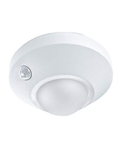 Preisvergleich Produktbild LEDVANCE LED Batteriebetriebene Leuchte,  Leuchte für Innenanwendungen,  Bewegungssensor,  Tag-Nacht-Sensor,  Kaltweiß,  86, 0 mm x 47, 0 mm,  NIGHTLUX Ceiling