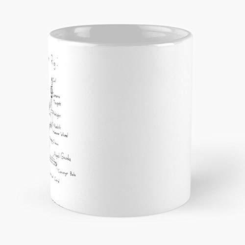 Gimbal Stabilizier Camera Steadicam Film Steadycam Cinematography Stabilizer Best 11 Ounce Ceramic Coffee Mug