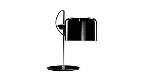Oluce Coupe - Lámpara de mesa negra diseño Joe Colombo 1967