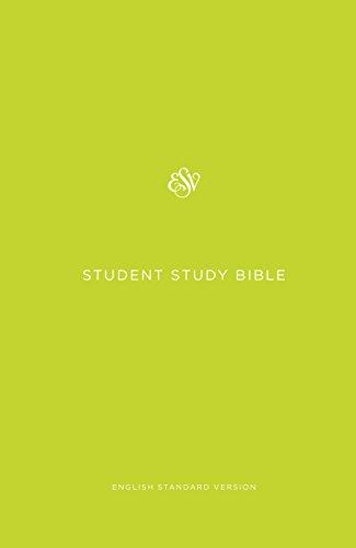 ESV Student Study Bible (Green)