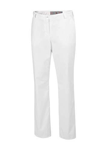 BP 1644-686-21-40n Hosen für Frauen, mit elastischen Seiten, 230,00 g/m² Stoffmischung mit Stretch, weiß, 40n
