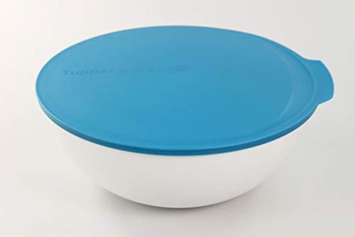 Tupperware Ensaladera Allegra de 5,0 L Azul Claro Blanco 36348