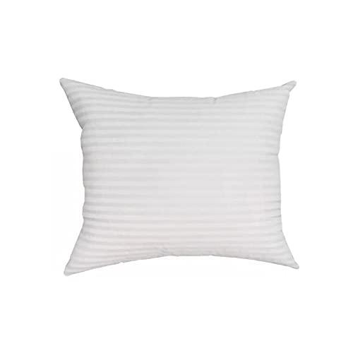 Set di 2 cuscini da 70 x 50 cm, a strisce, decorativi, impermeabili, con rivestimento in PU, per divano, sedia da giardino