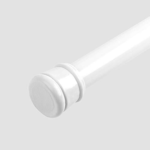 Telescoopstang, 28 - 47 inch, telescoopstang, gordijnroede, nooit roesten, veer, spanning, gordijnroede, uittrekbare gordijnroede, Windows, badkamer, kast