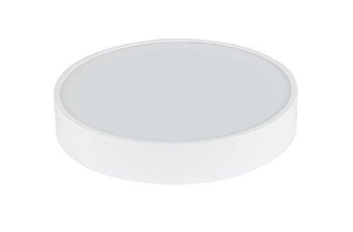 LED Deckenleuchte - Aufbauspot - Deckenspot - Modern - Slim - Weiß - Einfache Installation (12W-Warmweiss)