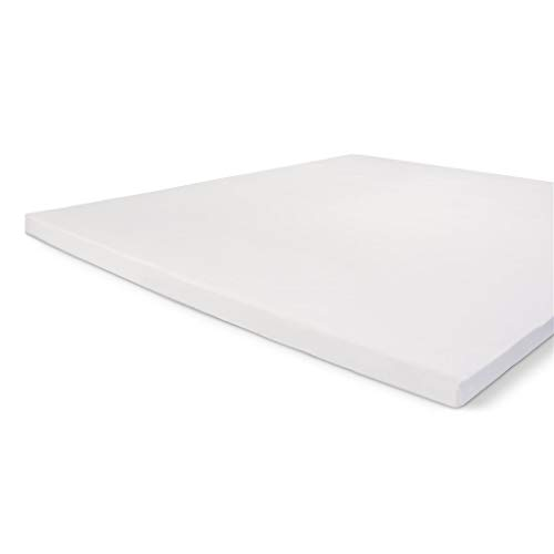 Walra Spannbettlaken 180x220 Topper, 100% Baumwolle Spannbetttuch, Perfekte Matratzenpassform, Weiches Gefühl, Knitter- & Bügelfrei - Weiß