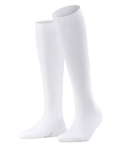 FALKE Damen Kniestrümpfe Family - 94% Baumwolle, 1 Paar, Weiß (White 2009), Größe: 35-38