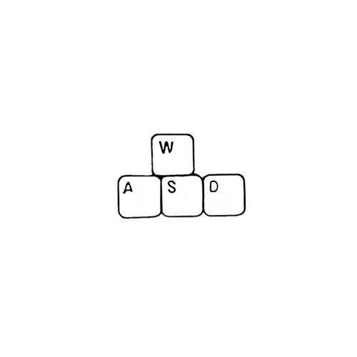 Minimalismus Label Pins Arbeiter Broschen Movie Board Computer Tastatur Zeiger Emaille Rucksack Pin Männer Frauen Schmuck Abzeichen Geschenke-Tastatur, China
