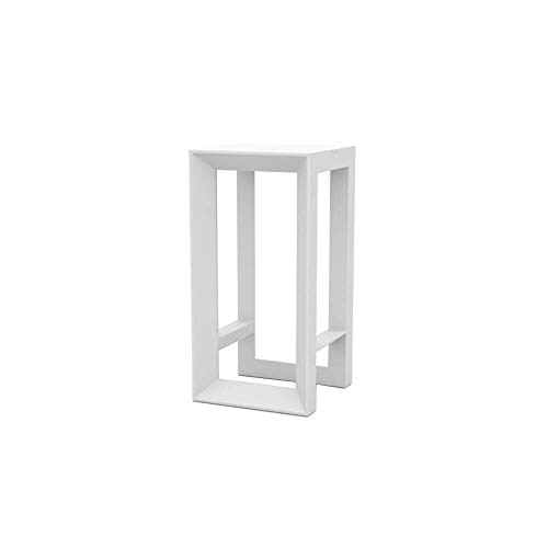 Vondom Frame table haute pour l'extérieur h.100 cm blanche