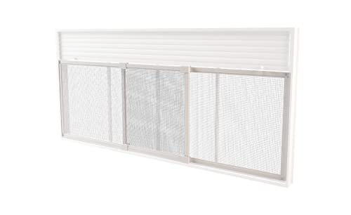 Mosquitera Extensible Para Ventanas 100/195 x 70 cm Blanca