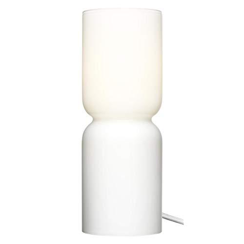 Iittala Lantern Tischleuchte, Glas mundgeblasen, E14, bianco