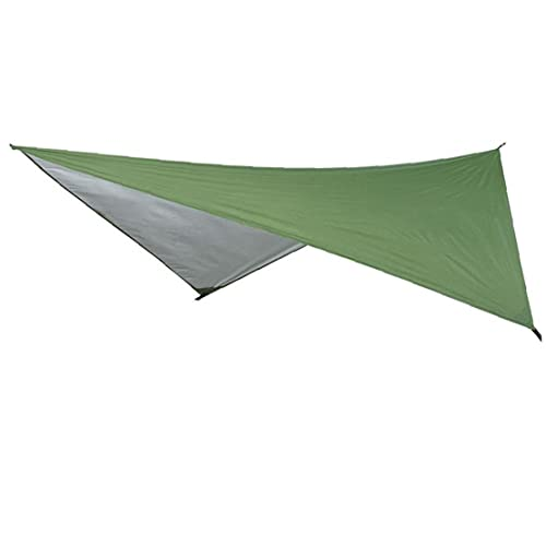 Liadance Camping Tarp, Hammock Regen Fly Zelt Tarp Im Freienzelt Tarp Strand-Zelt Regenschirm Leichten Camping Tarp Schatten Für Picknick Wandern Im Freien 230x210cm