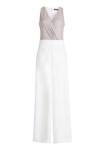 Vera Mont Jumpsuit White/Cream, 42 Damen