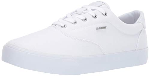 Lugz Men's Flip Sneaker, White, 10.5 D US