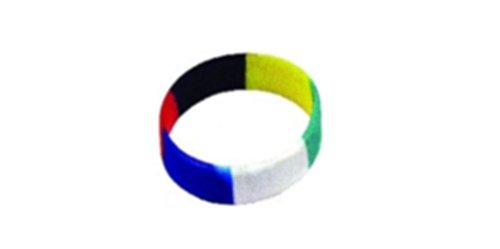 Swanson Christian Bracelet-Plan of Salvation Faith Band-Multi Color