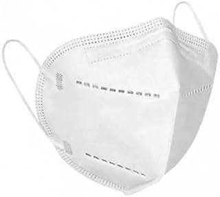 Máscara Descartável Proteção Kn95 5 Camadas com Elástico Branca-SOS Mascaras - FBA (20)