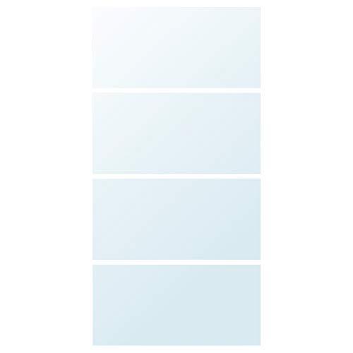 AULI 4 paneler för skjutdörr 100 x 201 cm spegelglas