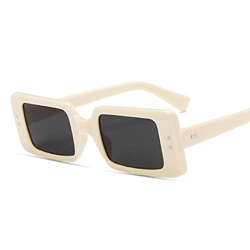 AMFG Fashion Metal Gafas De Sol Personalidad Pequeño Marco Street Shooting Sunglasses Solar Sart Shooting Catwalk Street Shooting (Color : F)